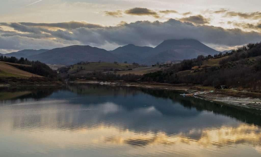 Lago di Cingoli. Il pannello di Camera Raw.