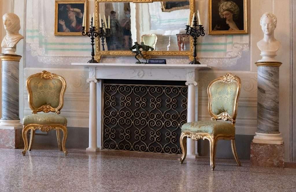 Piano nobiliare Palazzo Blu