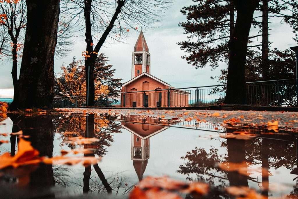 Una piccola chiesetta di Urbino