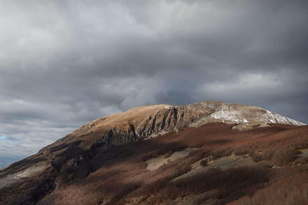 Monte acuto  e Monte Catria