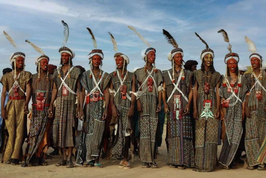 I pastori Woodabee. Niger