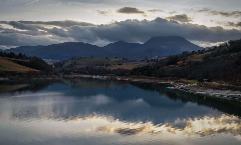 Lago di Cingoli. Lago di Castreccioni