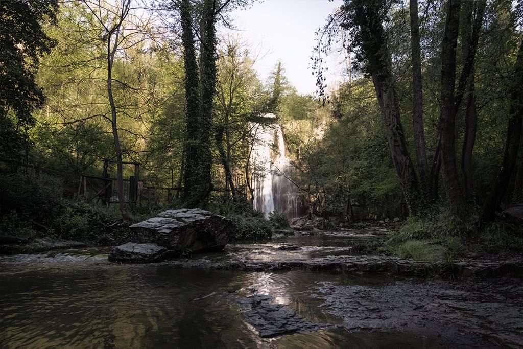 Le cascate di Forcella