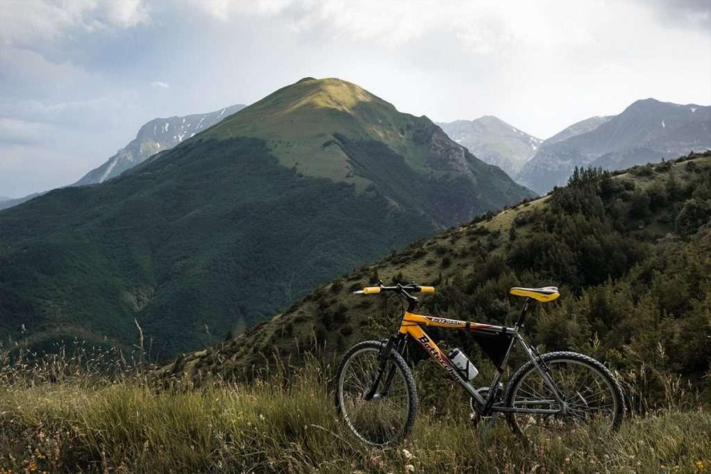 Mountain bike Monte Sibilla