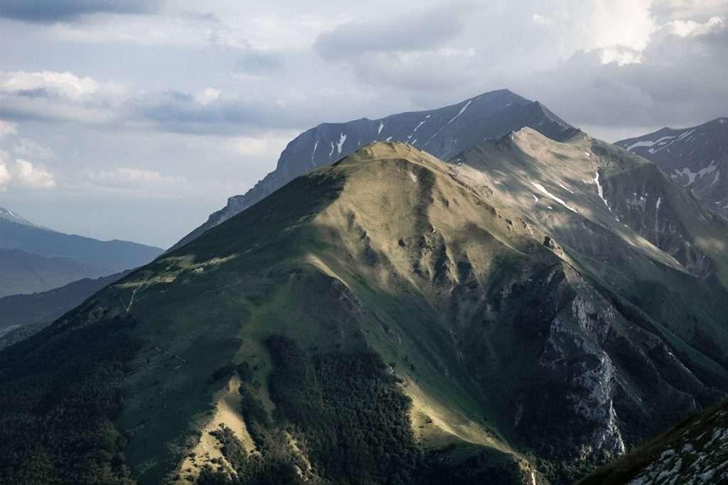 Mountain bike al Monte Sibilla